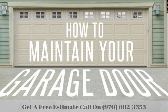 Replace a Garage Door Fort Collins