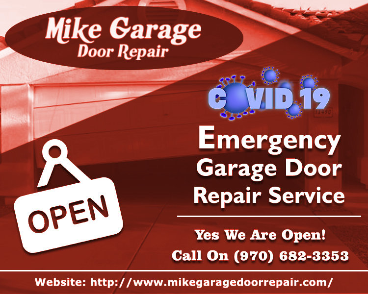 Garage Door Repair Services Coronavirus Pandemic