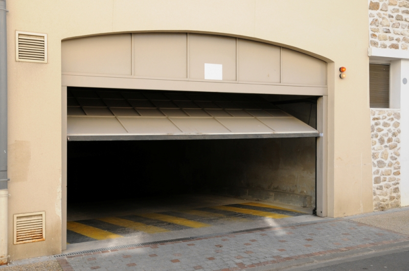 Slow Opening Garage Door