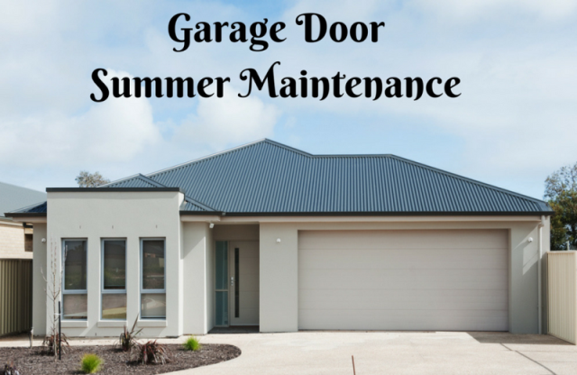 Garage Door Summer Maintenance (1)