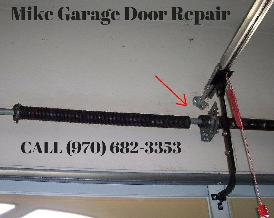 Garage Door Springs are Broken