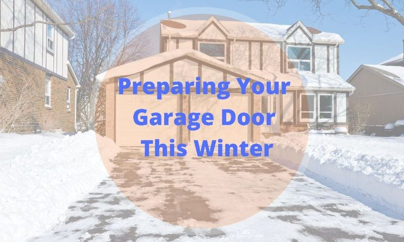 Garage Door for Winter