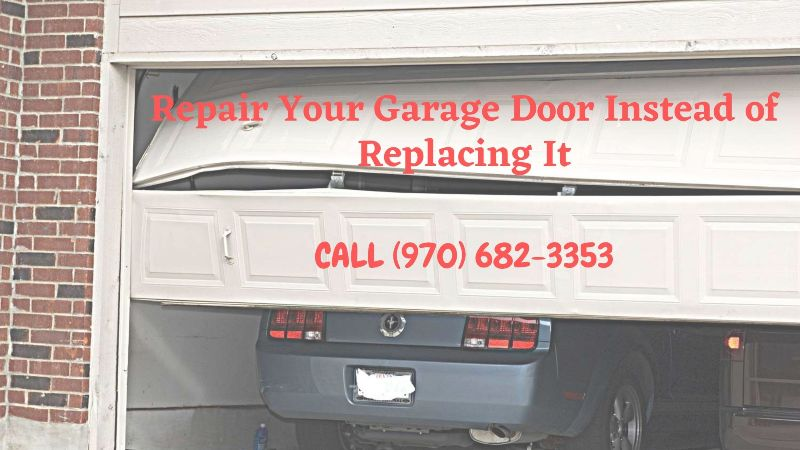 Repair Your Garage Door Instead of Replacing It