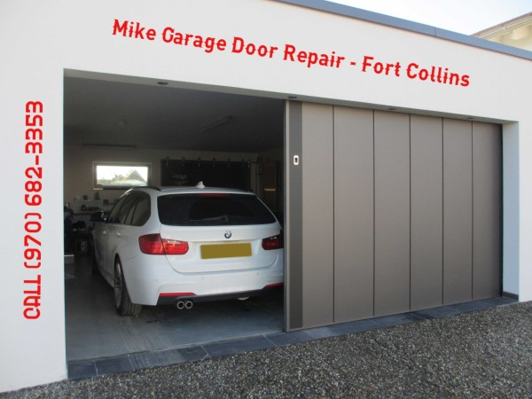 Sliding Garage Door - Fort Collins